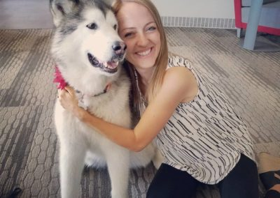 Mary Ryan and Dog
