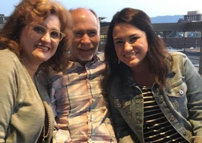Mackenzie and her parents