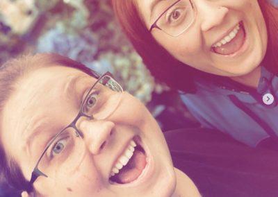 Kelsey Martin and Jennifer Noel